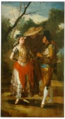 Image for Maja with Two Toreros, A