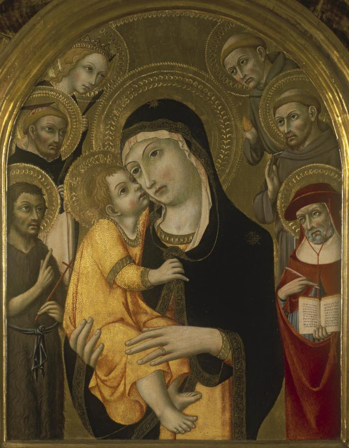 Image for Madonna and Child with Six Saints
