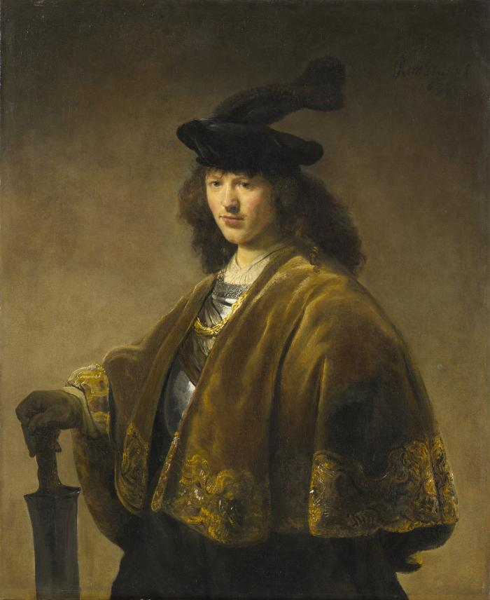 Image for Young Man with a Sword