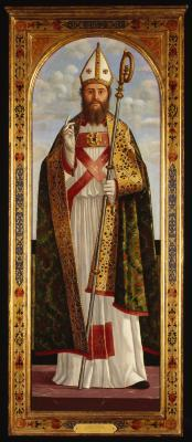 Image for Bishop Saint Blessing, A