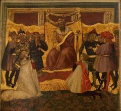 Image for Scene From a Novella (cassone panel)