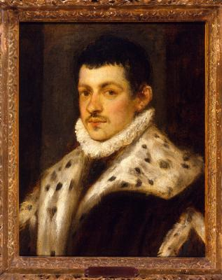 Image for Portrait of a Young Man with an Ermine Trimmed Coat