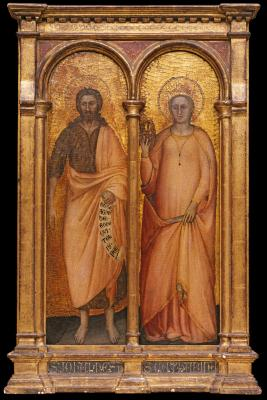 Image for Saints Catherine of Alexandra and John the Baptist [Catherine]