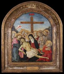 Image for The Lamentation Over the Dead Christ with Saints