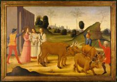 Image for Saint Lucy Lead to her Martyrdom