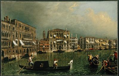 Image for The Grand Canal at the [Rio di] Ca' Foscari