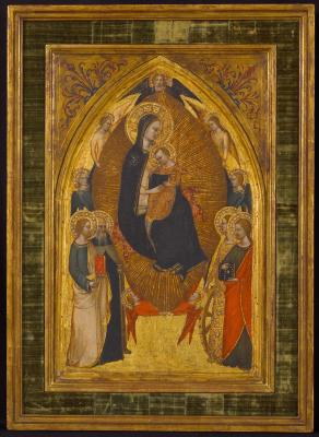 Image for Madonna and Child in Glory with Saints and Angels