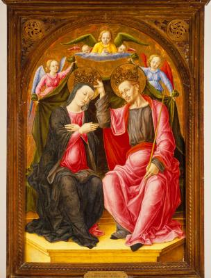 Image for The Coronation of the Virgin