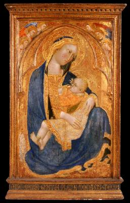 Image for Madonna of Humility, with Angels