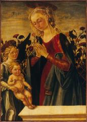 Image for Madonna and Child with Angel