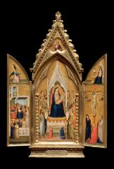 Image for Madonna and Child Enthroned