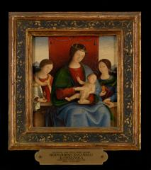 Image for Madonna and Child with the Magdalen and Saint Christina