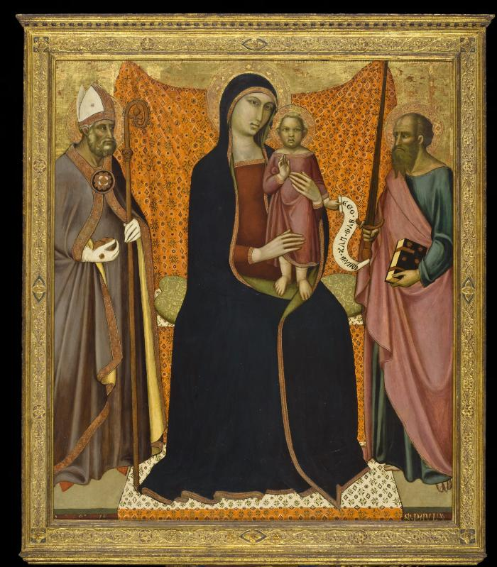 Image for Madonna and Child with Saints Nicholas and Paul