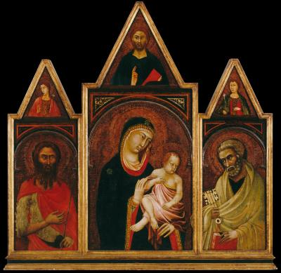 Image for Madonna and Child with Saints Peter and John the Baptist