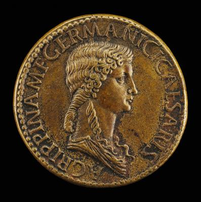 Image for Agrippina Senior, 14 B.C.-A.D. 33, Daughter of Marcus Agrippa, Wife of Germanicus [obverse]; Funeral Car [reverse]