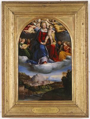 Image for Madonna and Child in Glory