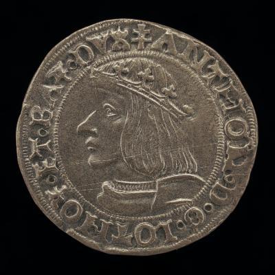 Image for Antoine, 1489-1544, Duke of Lorraine 1508 [obverse]; Crowned Shield [reverse]
