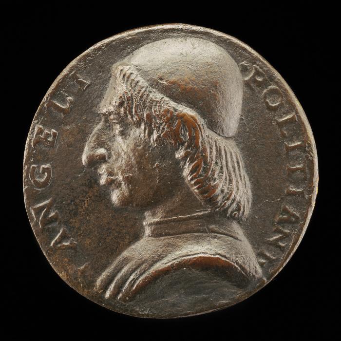 Image for Angelo Poliziano, 1454-1494, Humanist [obverse]; Maria Poliziana [reverse]