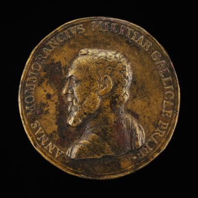 Image for Anne de Montmorency, 1493-1567, Constable of France 1538 [obverse]; Prudence, Courage and Fortune [reverse]