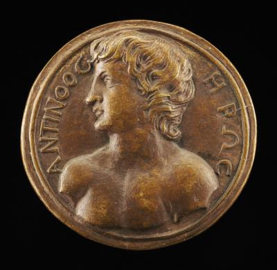 Image for Antinous [obverse]; Antinous on a Griffin [reverse]