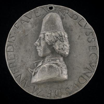 Image for Carlo Manfredi, 1439-1484, Lord of Faenza 1468-1477