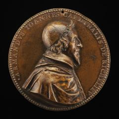 Image for Armand-Jean du Plessis, 1585-1642, Cardinal de Richelieu 1622 [obverse]; Fortune Chained to a Chariot Carrying Fame and France [reverse]