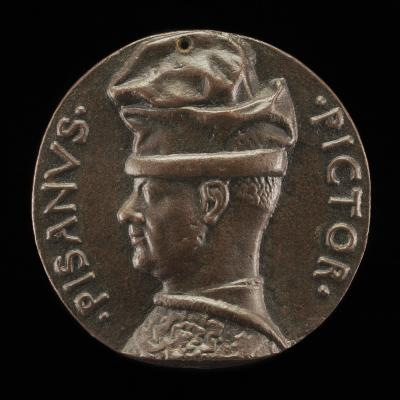 Image for Antonio Pisano, called Pisanello, the Painter and Medallist [obverse]; Initials of the Seven Virtues [reverse]