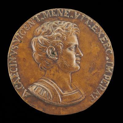Image for Aulus Caecina Alienus, General of Vitelius A.D. 68 [obverse]; Inscription [reverse]