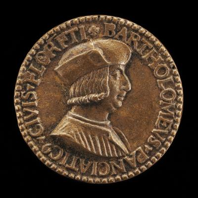 Image for Bartolomeo Panciatichi, 1468-1533, Merchant [obverse]; Arms of Panciatichi [reverse]