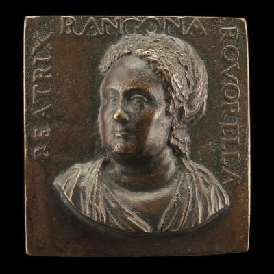 Image for Beatrice Roverella, c. 1510-1575, Wife of Paolo Manfroni and Ercole Rangone [obverse]; Three-masted Ship, Without Sails, in a Stormy Sea [reverse]