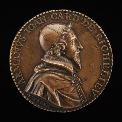 Image for Armand-Jean du Plessis, 1585-1642, Cardinal de Richelieu 1622 [obverse]; The Globe and the Planets [reverse]