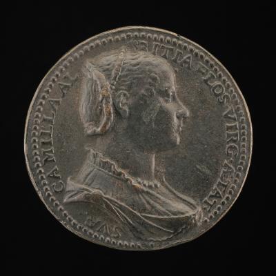 Image for Camilla Albizzi [obverse]; Apollo Pursuing Daphne [reverse]