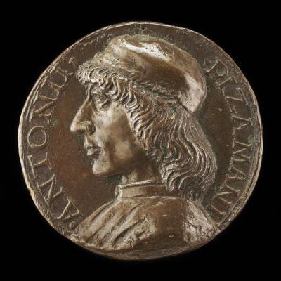 Image for Antonio Pizzamani, 1462-1512, Venetian Scholar and Apostolic Pronotary, Bishop of Feltre 1504 [obverse]; Felicity, Fame and Virtus [reverse]