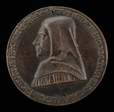 Image for Fra Cesario of Ferrara, died 1490, Servite Monk [obverse]; Fra Cesario Seated on a Rock, Contemplating a Skull [reverse]