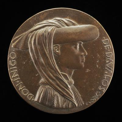 Image for Don Iñigo d'Avalos, d. 1484, Grand Chamberlain of Naples 1449 [obverse]; Sphere Representing Earth, Sea, and Sky [reverse]