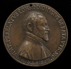 Image for Dionisio Ratta of Bologna, died 1597 [obverse]; Inscription [reverse]