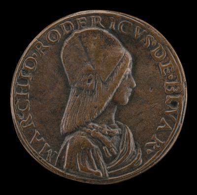 Image for Don Rodrigo de Bivar Y Mendoza, died 1523 [obverse]; Mars and Venus [reverse]