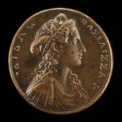 Image for Dido, Queen of Carthage [obverse]; Carthage with Galleys in Harbor [reverse]