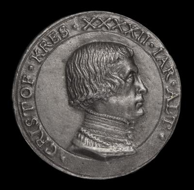 Image for Christoph Kress von Kressenstein,1484-1535, Patrician and Diplomat [obverse]; Coat of Arms [reverse]