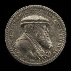 Image for Charles V, 1500-1558, King of Spain 1516-1556, Holy Roman Emperor 1519 [obverse]; Double-headed Crowned Eagle on Pillars of Hercules [reverse]
