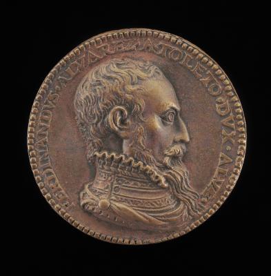Image for Fernando Alvarez de Toledo, 1507-1582, 3rd Duke of Alba [obverse]; Pallas in Car drawn by Two Owls [reverse]