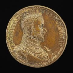 Image for Emanuele Filiberto, 1528-1580, 10th Duke of Savoy 1553 [obverse]; Marguerite de France, died 1574, Wife of Emanuele Filiberto 1559 [reverse]