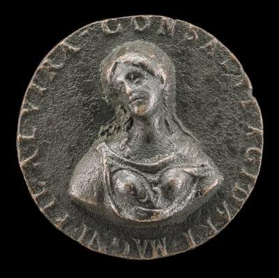 Image for Elvira, Daughter of Consalvo de Córdoba [obverse]; Time Carrying a Scythe [reverse]