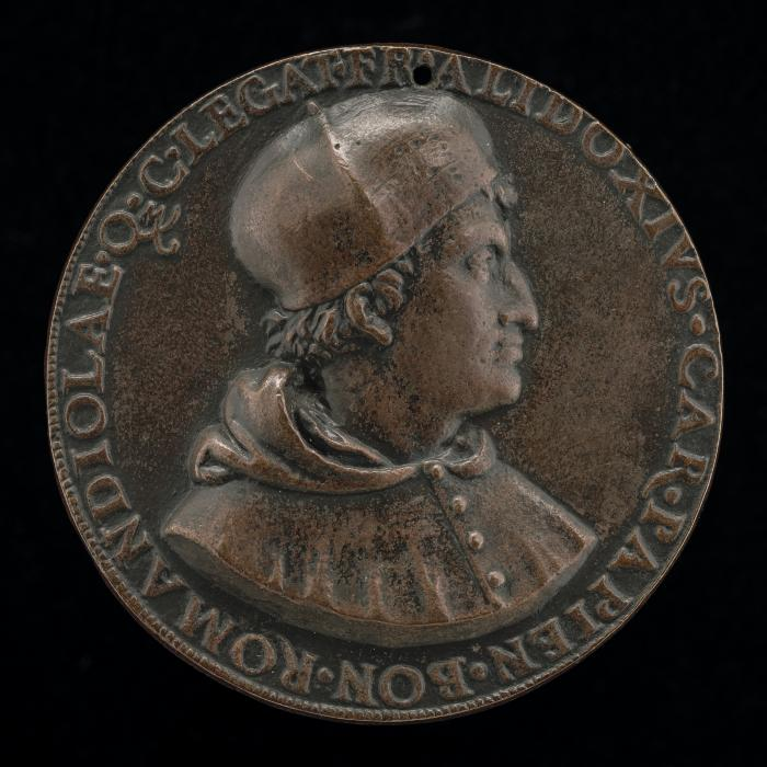 Image for Francesco degli Alidosi, c. 1455-1511, Cardinal of Pavia 1505, Legate of Bologna and Romagna 1508 [obverse]; Jupiter in a Car Drawn by Eagles [reverse]