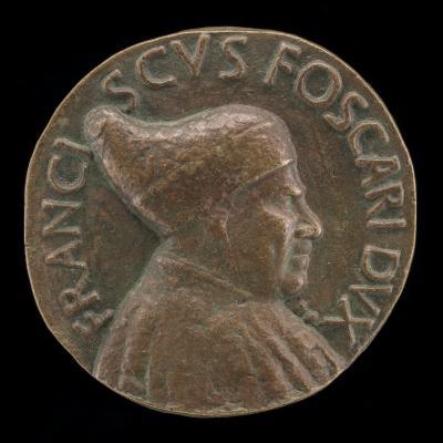 Image for Francesco Foscari, c. 1374-1457, Doge of Venice 1423 [obverse]; Venetia and Two Furies [reverse]
