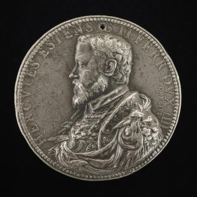 Image for Ercole II d'Este, 1508-1559, 4th Duke of Ferrara 1534 [obverse]; Patience [reverse]