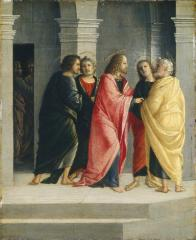 Image for Christ Instructing Peter and John to Prepare for the Passover