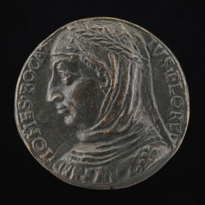Image for Giovanni Boccaccio, 1313-1375, Florentine Writer [obverse]; Wisdom Gazing at a Serpent [reverse]