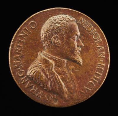 Image for Gianfrancesco Martinioni, Milanese Physician [obverse]; Hippocrates(?) [reverse]