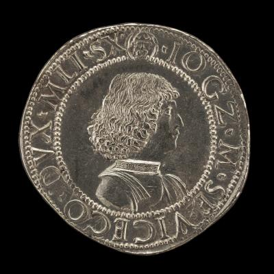 Image for Giangaleazzo Maria Sforza, 1469-1494, 6th Duke of Milan 1476 [obverse]; Lodovico Maria Sforza, called il Moro, 1451-1508, Regent 1480-1494 [reverse]